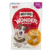 Milk-Bone Wonder Bones Paw Rockers Chicken Mini Dog Treats