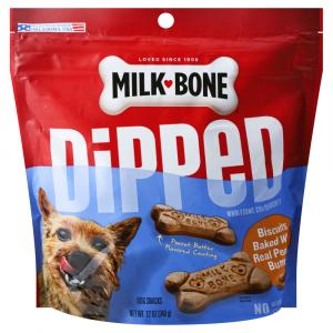Milk-Bone Dipped Peanut Butter Dog Snacks