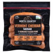 North Country Vermont Cheddar Sausage