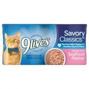 9Lives Seafood Platter Cat Food