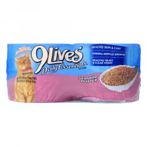 9Lives Seafood Platter Cat Food