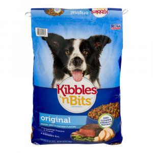 Kibbles 'n Bits Original Dry Dog Food Large Bag