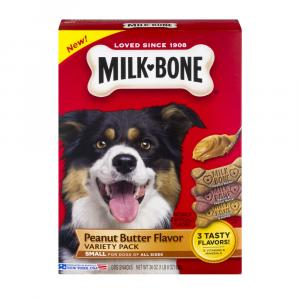 Milk-Bone Peanut Butter Flavor Variety Pack