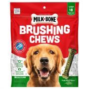 Milk-Bone Brushing Chews Large Dog Treats