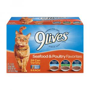 9Lives Seafood & Poultry Variety Pack
