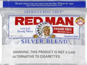 Red Man Silver Blend Chewing Tobacco