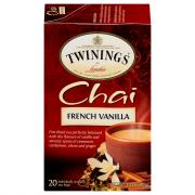 Twinings French Vanilla Chai Tea Bags
