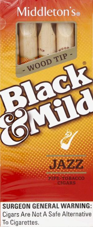 Black & Mild Jazz Wood Tip Cigars