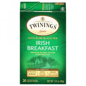 Twinings Irish Breakfast Tea Bags