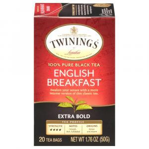 Twinings Extra Bold English Breakfast Tea Bags