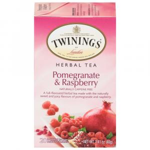 Twinings Pomegranate And Raspberry Herbal Tea Bags