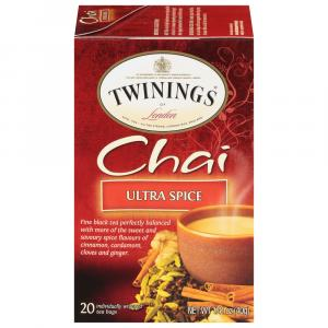 Twinings Ultra Spice Chai Tea Bags