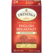 Twinings Decaf English Breakfast Tea Bags