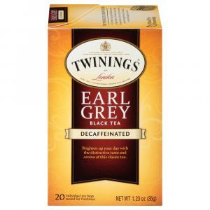 Twinings Decaf Earl Grey Tea Bags