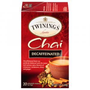 Twinings Decaf Chai Tea Bags