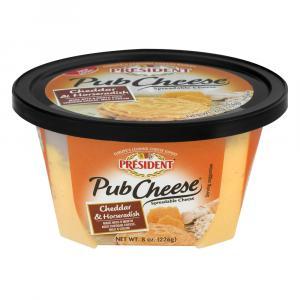 Rondele Horseradish Cheddar Pub Cheese
