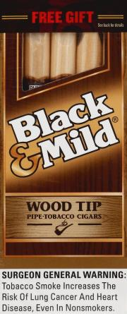 Black & Mild Wood Tip Cigars