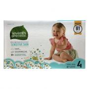 Seventh Generation Free & Clear Stage 4 Diapers