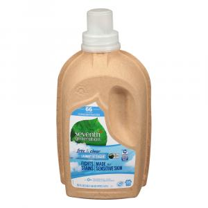Seventh Generation Natural 4x Free & Clear Laundry Detergent