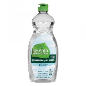 Seventh Generation Free & Clear Liquid Dish Detergent