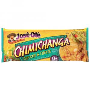Jose Ole Chicken Chimichangas