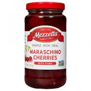 Mezzetta Maraschino Cherries with Stems