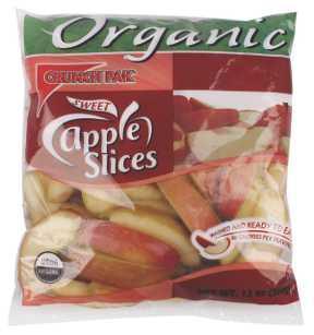 Organic Apple Slices