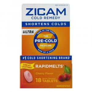 Zicam Long Acting Cold Remedy Cherry Flavor