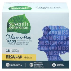 Seventh Generation Ultra Thin Maxi Pads