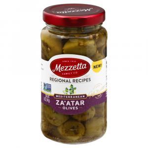 Mezzetta Regional Recipes Mediterranean Za'atar Olives