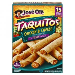 Jose Ole Chicken & Cheese Taquitos