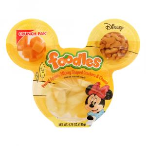 Foodles Apples, Cheese & Mickey Mouse Crackers
