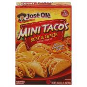 Jose Ole Beef & Cheese Mini Tacos