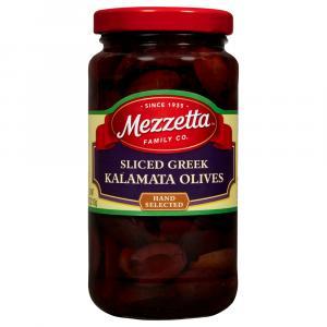 Mezzetta Sliced Greek Kalamata Olives