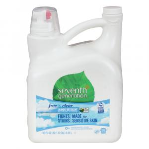 Seventh Generation Free & Clear Liquid Laundry Detergent