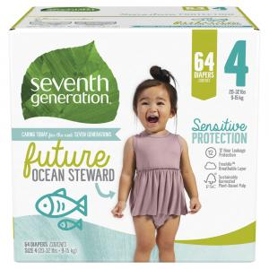 Seventh Generation Medium Stage 4 Diapers
