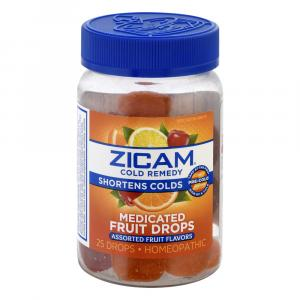 Zicam Medicated Fruit Drops