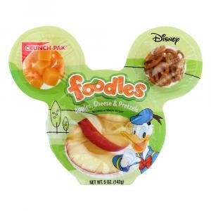 Foodles Apples, Cheese & Donald Duck Pretzels