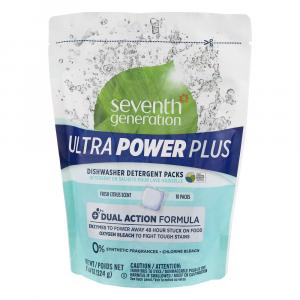 7th Generation Ultra Power Plus Dishwasher Detergent Packs