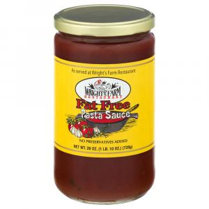 Wright's Farm Fat Free Pasta Sauce
