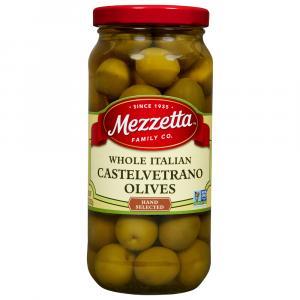 Mezzetta Italian Castelvetrano Whole Green Olives