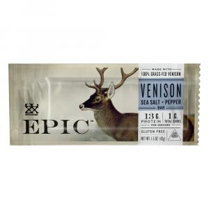 Epic Gluten Free Venison Meat Bar