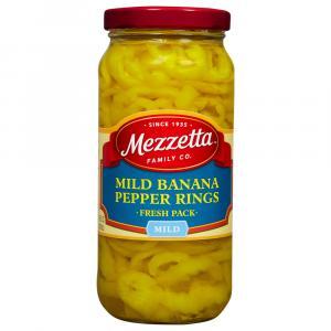 Mezzetta Deli Sliced Mild Pepper Rings (Banana Wax)