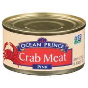 Ocean Prince Wild Caught Pink Crab Meat