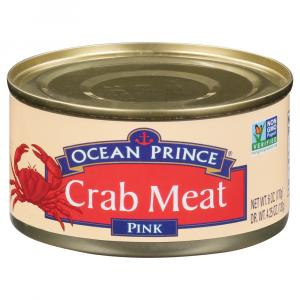 Ocean Prince Wild Caught Pink Crab Meat