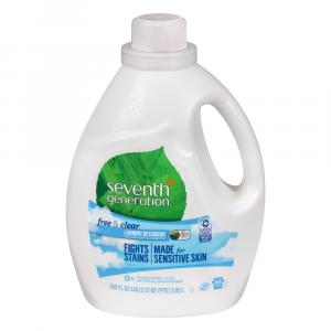 Seventh Generation 2x Liquid Detergent Free & Clear