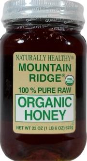 Mountain Ridge Raw Organic Honey