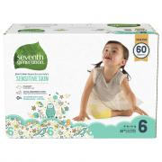 Seventh Generation Stage 6 Free & Clear Diapers