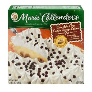 Marie Callender's Chocolate Chip Cookie Dough Cream Pie