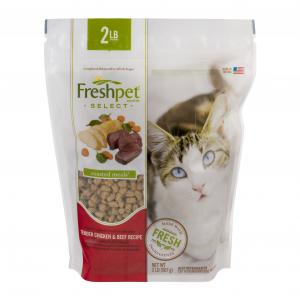 Freshpet Select Cat Chicken & Beef Roasted Meals